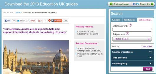 Scholarship uk