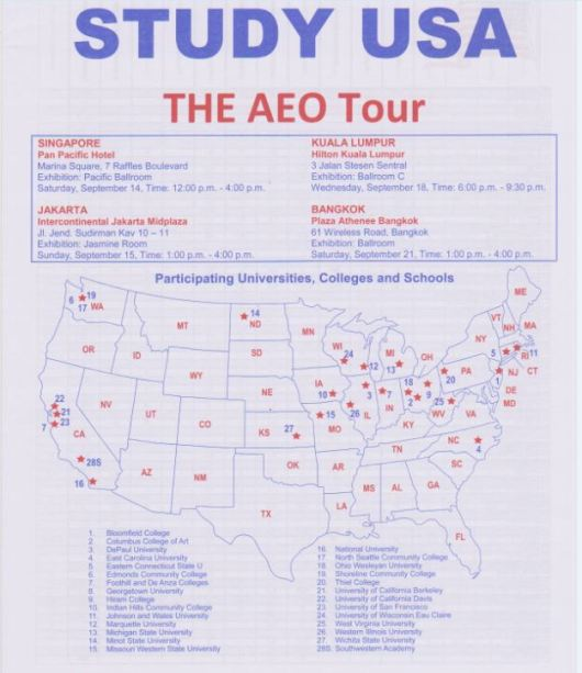 Aeo Tour Study Usa
